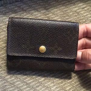 LV small monogram wallet